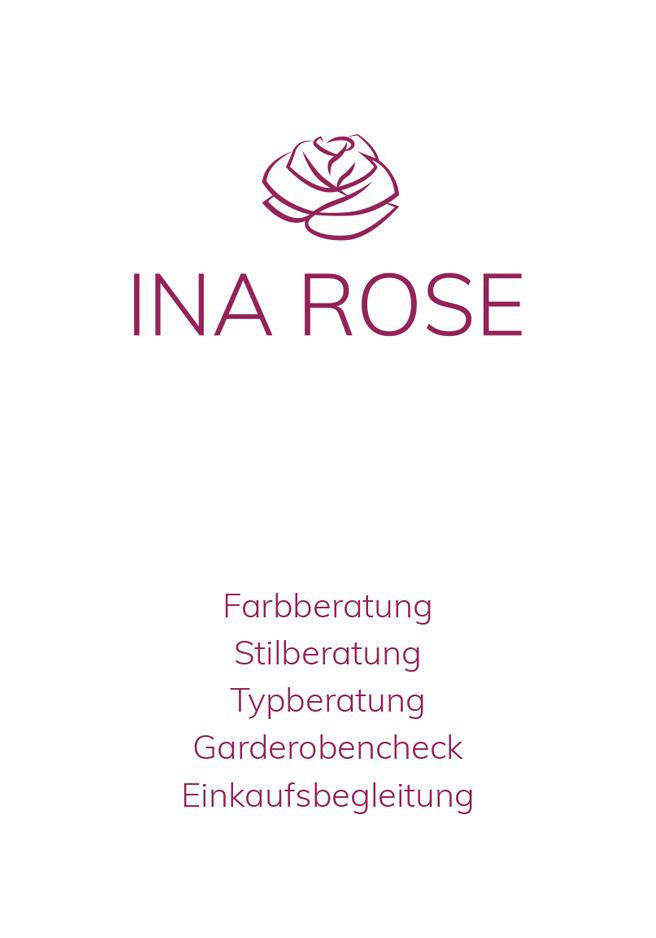 Gutschein - Ina Rose - Ihre Stil-, Farb-, Typ- und Make-up Beratung, Garderobencheck, Einkaufsbegleitung aus Hamm.